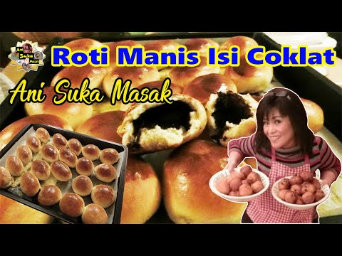 Video Cara Membuat - Roti Manis Isi Coklat