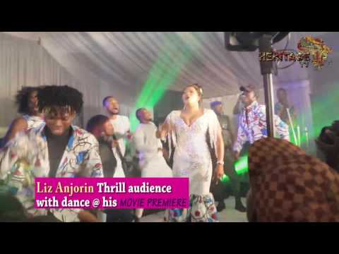 Liz Anjorin thrill audience with dance at her premiere (owo nairabet