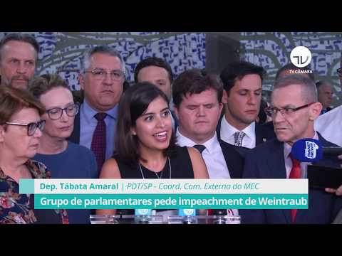 Grupo de parlamentares pede impeachment de Weintraub - 05/02/20