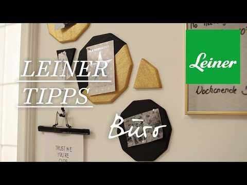 Leiner Tipps - Büro - Kork-Pinnwand