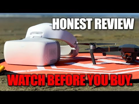 DJI Goggles - What other reviewers are not telling you! - HONEST REVIEW