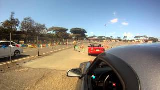 preview picture of video 'SCCA Hawaii Region AutoX Race 1, Run 2 - SSM Class - Julian Price - 07152012'