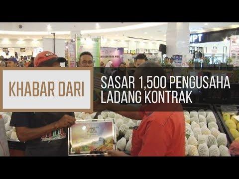 Khabar Dari Johor: Sasar 1,500 pengusaha ladang kontrak