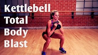 20 Minute Total Body Kettlebell Blast Workout for Strength and Cardio by BodyFit By Amy