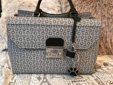 What's in my Guess Zena Signature Satchel Bag