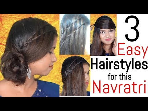 3 Easy Hairstyles Using Bottle For Festival This 2018 Navratri