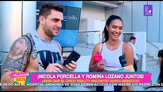 ¡Nicola Porcella y Romina Lozano juntos! - Válgame Dios