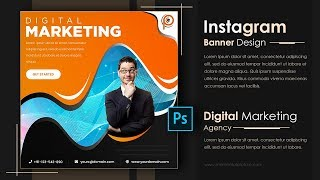 Create Digital Marketing Banner || How To Make Banners In Photoshop 2020 | Momentos Picture |