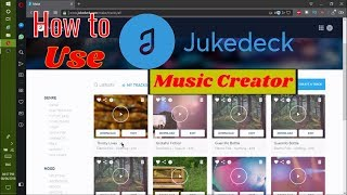 Tutorial on How to use JukeDeck (with subtitles)