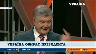 Україна обирає президента: Петро Порошенко був гостем програми Головна Тема  Вибір