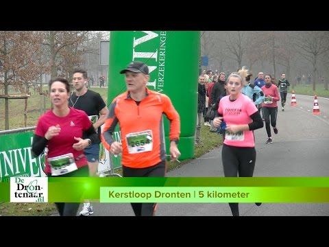 VIDEO | Vrijwel alle vijf-kilometerlopers van de Kerstloop Dronten, vlak voor de finish