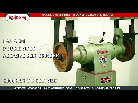 Manual Abrasive Belt Grinding Machine