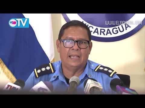 Policía Nacional presenta a 5 delincuentes  que sembraron el terror en Carazo