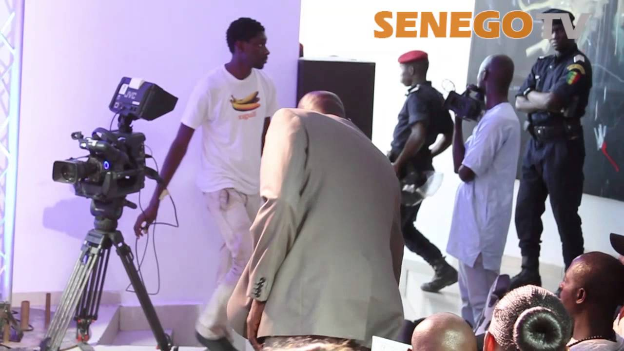 Senego TV: Le film de l'Arrestation de Ama Baldé en pleine conférence de presse