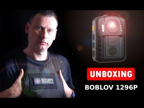 Unboxing my BOBLOV 1296P ( Novatek 96650 ) Body Worn Camera
