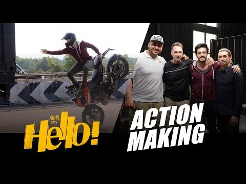 HELLO  Movie Action Making