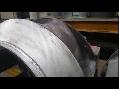 Aluminum Impeller 6 Blade Dia 450 mm