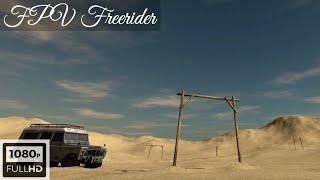 FPV drone - FPV Freerider | Track: Desert - Race time 27 sec (3 laps)