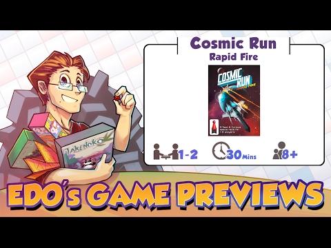 Edo's Cosmic Run: Rapid Fire Review (KS Preview)