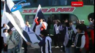 preview picture of video 'Pasó por Bell Ville la bandera más grande del mundo; es de Talleres de Córdoba'