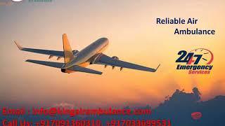 Advanced Emergency Air Ambulance Service in Varanasi and Kolkata by King