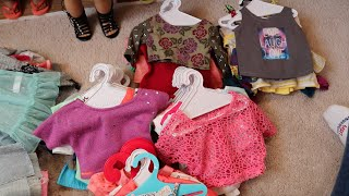 All Of My American Girl Doll Clothes! {Tops}