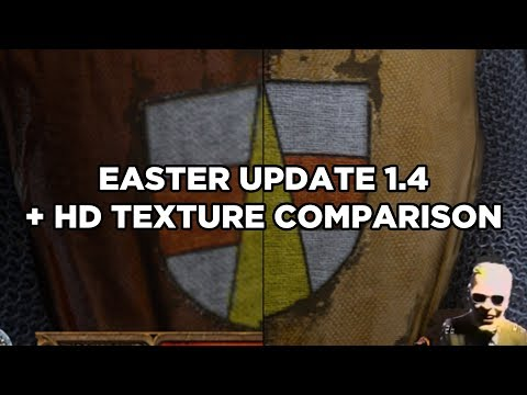 Kingdom Come Deliverance   Easter Update 1.4 + HD Texture Comparisons