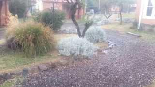 preview picture of video 'Granizo en Santa Rosa de Calamuchita II'