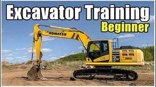 Excavator Training & Operation (Beginner) 2020 | Heavy Equipment Operator Training