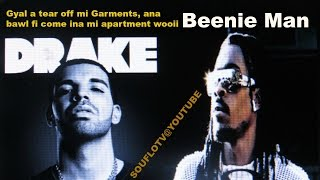 Drake mek dem A BEAT BEENIE MAN LIKE HOW DEM BEAT KUNTA KINTE, LOL