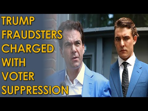 Jacob Wohl and Jack Burkman Charged with Fraud and VOTER SUPPRESSION in Michigan to help Trump