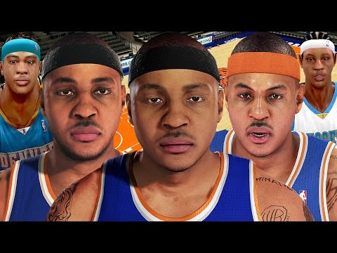 Carmelo Anthony From NBA 2K4 to NBA 2K16