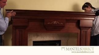 Wood Fireplace Mantel Surround   Installation   MantelsDirect.com