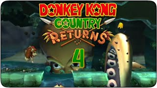 preview picture of video 'Donkey Kong Country Returns #04 - Liberad al Kraken'