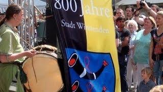 preview picture of video '800 Jahre Stadt Winnenden - Mädlesfest'