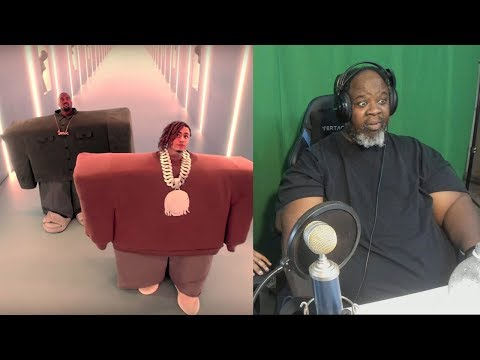 Dad Reacts to Kanye West & Lil Pump ft. Adele Givens -