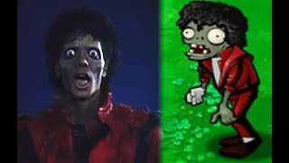 Michael Jackson's Zombie Is In My Garden - Plants Vs Zombies Part 3