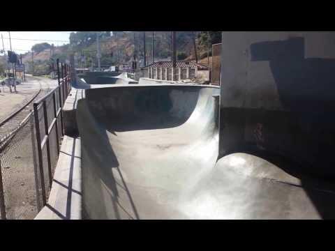 Tour of Channel Street Skatepark in San Pedro, CA