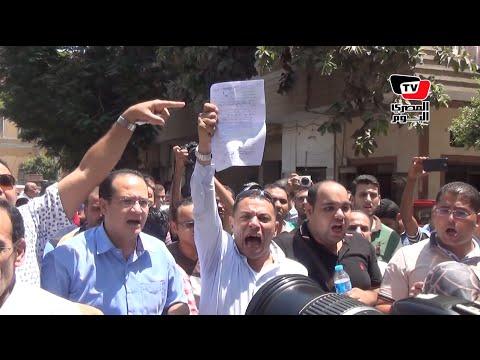 موظفوا مصلحة الضرائب: «ثورة ثورة حتي النصر.. ثورة في كل ضرايب مصر»