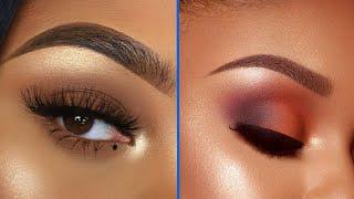 Eyeshadow Tutorial For Black Women | Eye Makeup Tutorial For Beginners #1