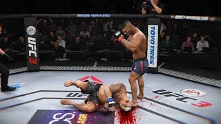 ТОПЧИМ ГОЛОВЫ в МИРОВОМ ТОП 5 RANKED UFC 3