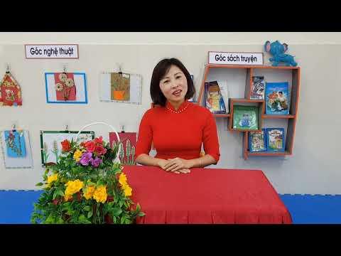HĐ Văn học: Thơ Hoa kết trái , MGN 4-5 tuổi