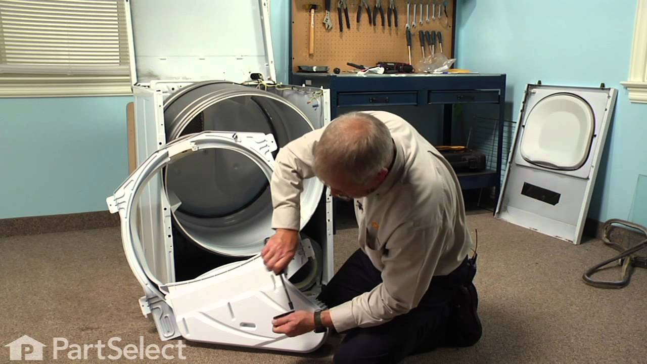 Replacing your Amana Dryer Cylinder Glide Bracket