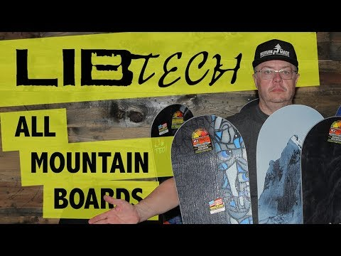 2018 Lib Tech All-Mountain Snowboards – Overview – TheHouse.com