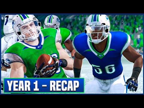 YEAR 1 RECAP (Stats/Awards) & OFFSEASON Preview - NCAA Football 14 Dynasty   Ep.16