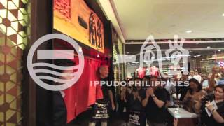 Grand Opening Launch of Ippudo Philippines