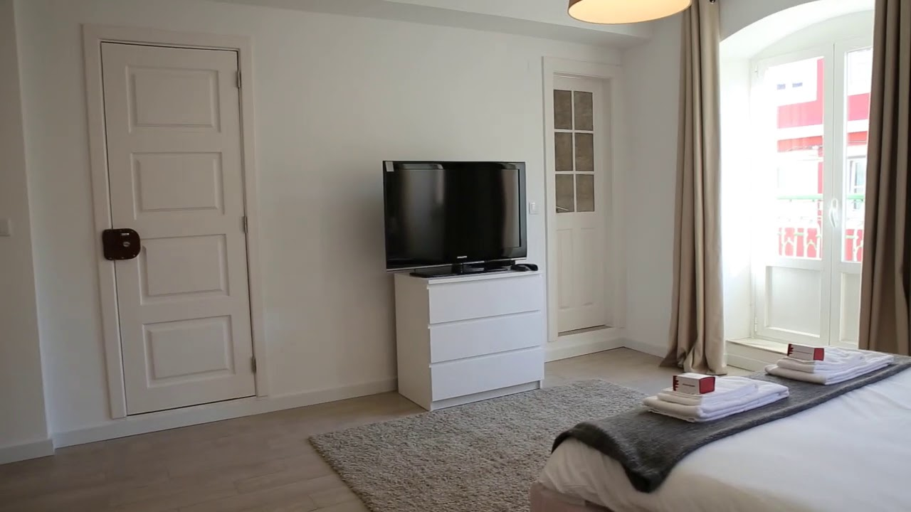 Chic studio apartment for rent in Belém
