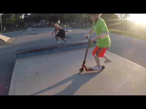 Session at Amesbury Skatepark