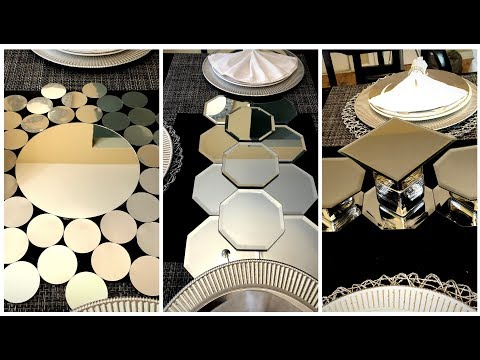 Dollar Tree Diy Mirrored Table Runners Centerpieces