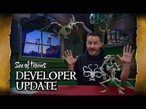 Official Sea of Thieves Developer Update: October 16th 2019
